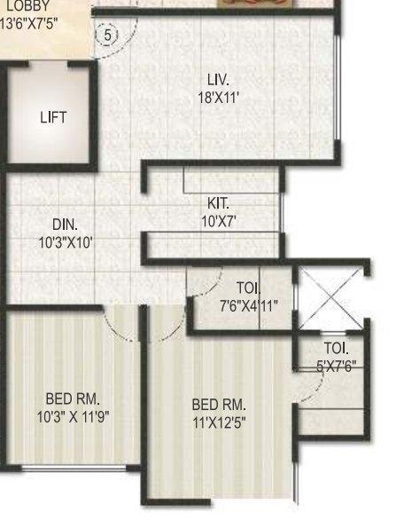Joy Alka Society, Mumbai - Floor Plan