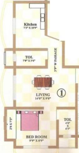 Mithila Darshan, Mumbai - Floor Plan
