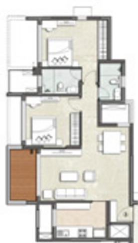 Kalpataru Waterfront, NaviMumbai - Floor Plan