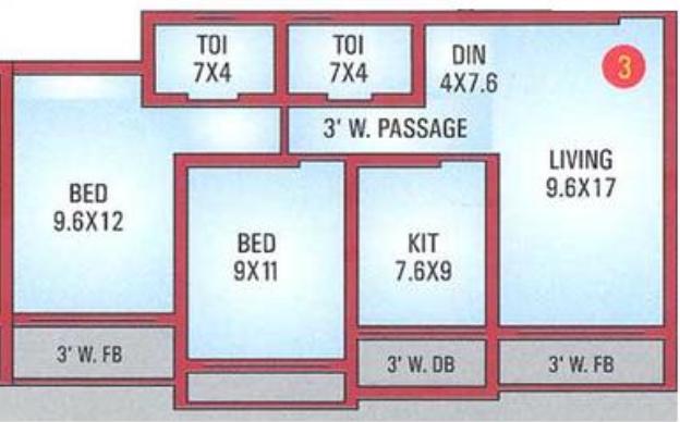 Amisha Empire, Mumbai - Floor Plan