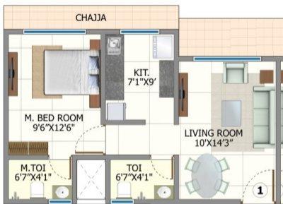 Shree Riddhi Siddhi Sumukh Hills, Mumbai - Floor Plan