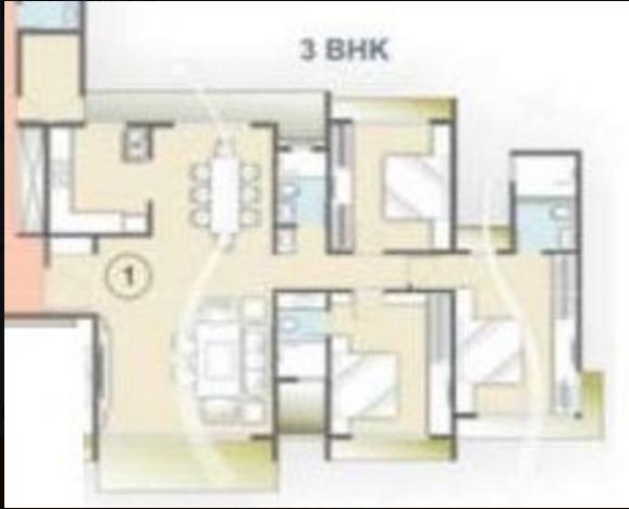 Sunteck Signia Oceans, NaviMumbai - Floor Plan