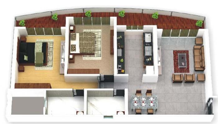Raj Altezza, Mumbai - Floor Plan