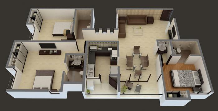 Kayarr Tranquility, Chennai - Floor Plan
