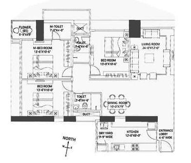 CCI Rivali Park, Mumbai - Floor Plan