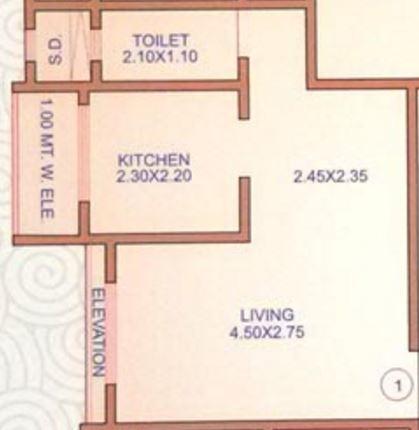 Beauty Heights, Mumbai - Floor Plan