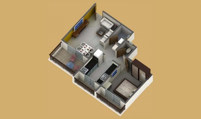 Regency Sarvam, Mumbai - Floor Plan