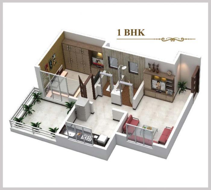 SCGK Royal Castle, Mumbai - Floor Plan