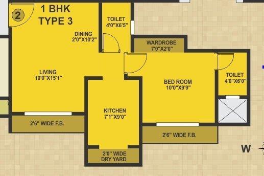 Swastik Epitome, Mumbai - Floor Plan