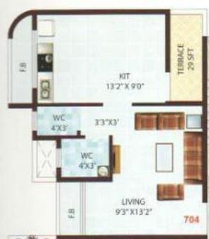 Om Sai Shree Sai Datta, NaviMumbai - Floor Plan