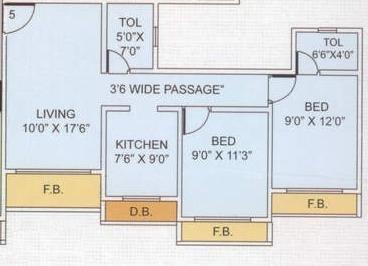Future Build Valmiki Heights, Mumbai - Floor Plan