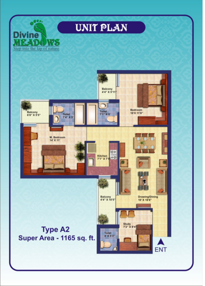 Elixir Divine Meadows, Noida - Floor Plan