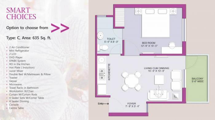 Earthcon Beetle Orchid, GreaterNoida - Floor Plan