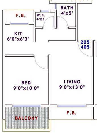 Sarang Aarvi, NaviMumbai - Floor Plan