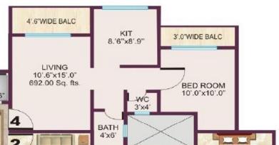 Shri Tirupati Heights, Thane - Floor Plan