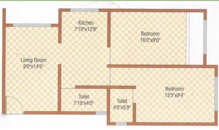 Space Kartikya Park, NaviMumbai - Floor Plan