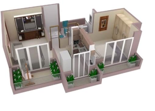 Laabh Aura, Thane - Floor Plan