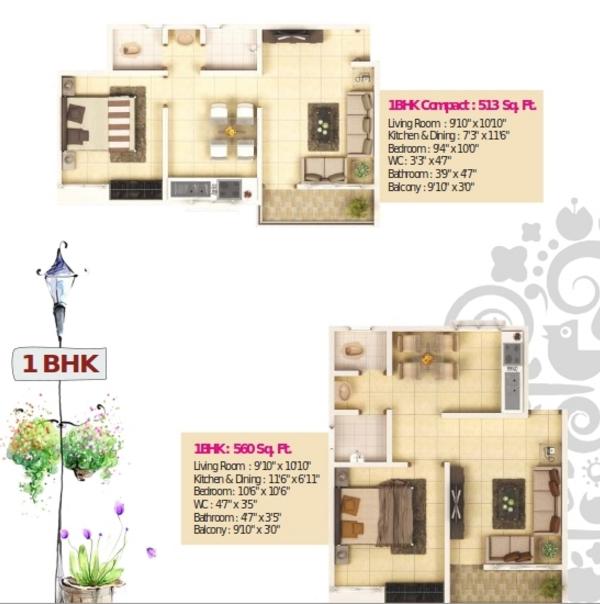 Jalan Eco Valley, Pune - Floor Plan