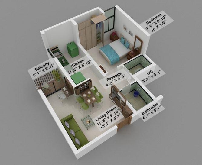 Mahindra Lifespace Happinest Boisar