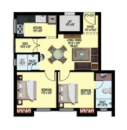 Sumangali Sunday, Chennai - Floor Plan