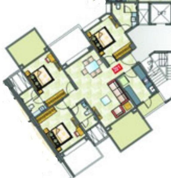 Trimurti Eternal Exotica, Pune - Floor Plan