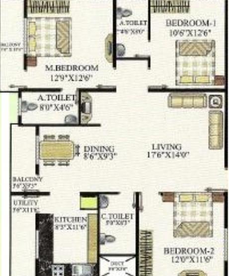 Balaji Sankalp, Bangalore - Floor Plan