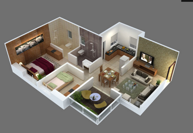 Sankla Exclusive Vistas, Pune - Floor Plan