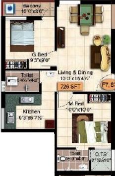 Stepsstone Krishu Phase II, Chennai - Floor Plan