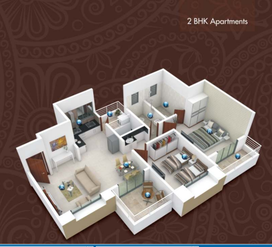 Gagan Emerald, Pune - Floor Plan