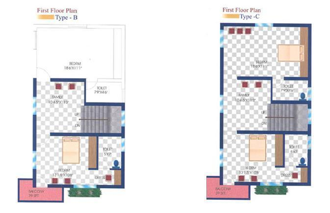 Marvel Riverview County Phase II, Chennai - Floor Plan