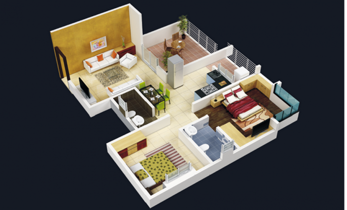 Jalan Aura County, Pune - Floor Plan