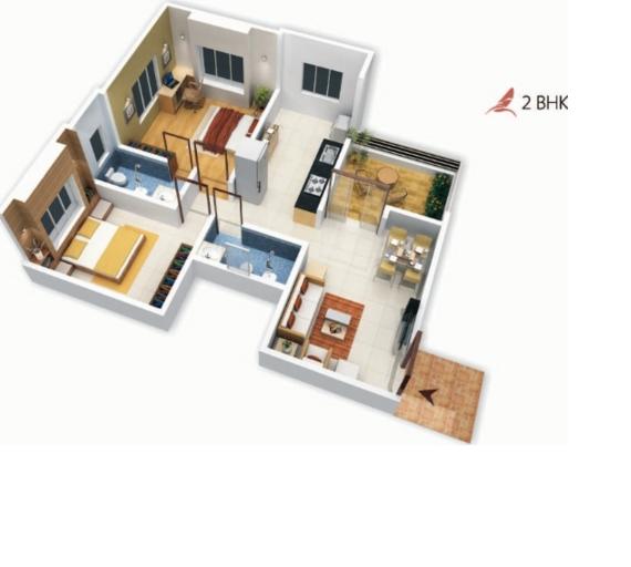 Pristine East Winds, Pune - Floor Plan