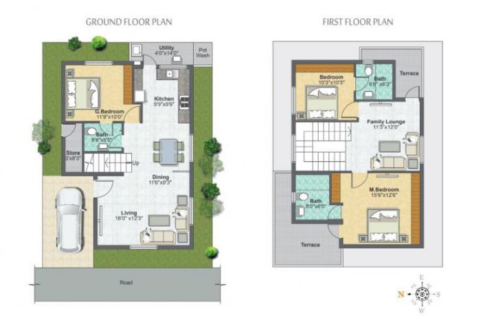 Metropolis Fair Oaks, Bangalore - Floor Plan