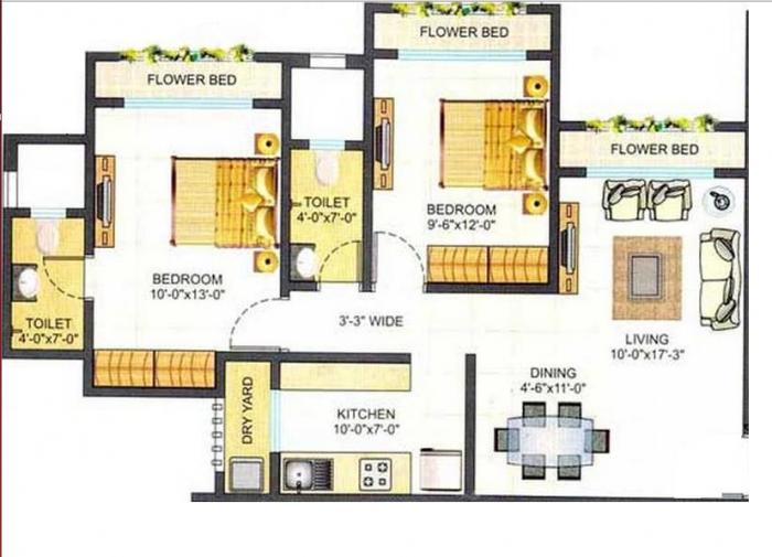 Shreeji Sea View, Mumbai - Floor Plan