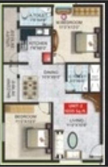 SGS Highland, Bangalore - Floor Plan