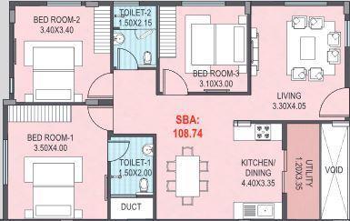 Manito Northlite, Bangalore - Floor Plan