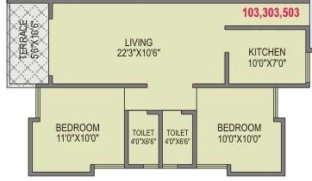 Shivpriya Avnish Regency, Pune - Floor Plan