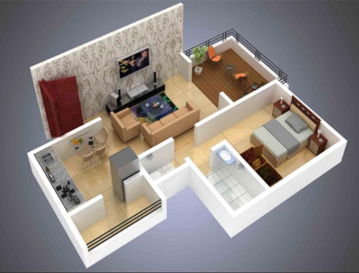 Venkatesh Swapna Nagari, Pune - Floor Plan