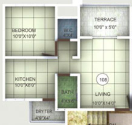 KK Classic, Pune - Floor Plan