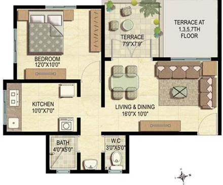 K Raheja Vistas Phase III, Pune - Floor Plan