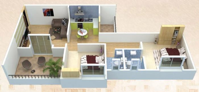 Arun Sheth Sanskriti Phase III, Pune - Floor Plan