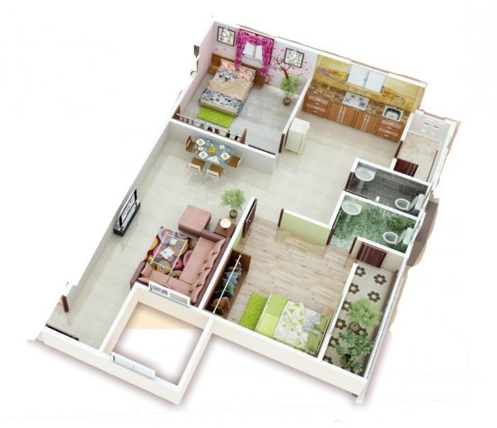 Kamal Paradise, Nagpur - Floor Plan