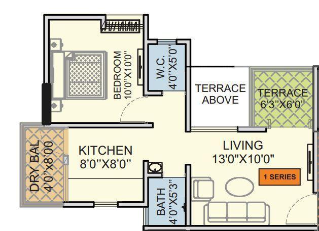 Raviraj Astria Phase II, Pune - Floor Plan