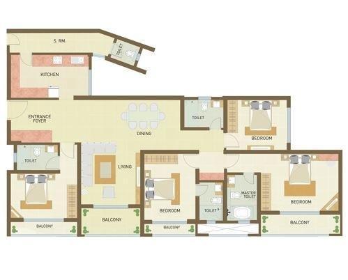Indiabulls Park, NaviMumbai - Floor Plan