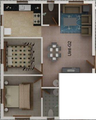 Kaniska Viviana, Chennai - Floor Plan