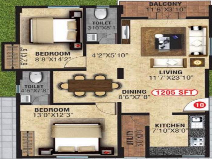 NCN Classic, Bangalore - Floor Plan