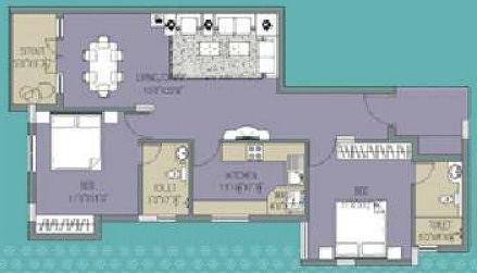 SIS Safaa Phase I, Chennai - Floor Plan