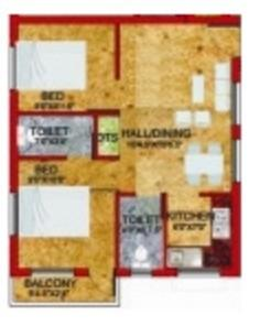 Devi Ishwarya Homes, Chennai - Floor Plan