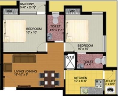 Macc Soorya, Chennai - Floor Plan