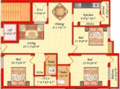 Balambigai Homes, Chennai - Floor Plan